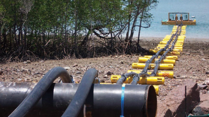 Pipeline Pre-commissioning