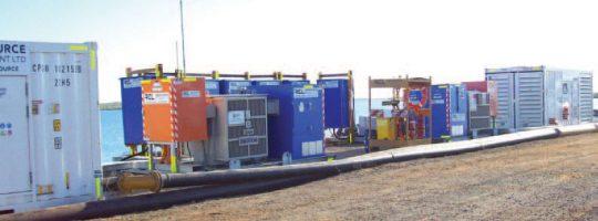 Power Temporary Sea Water Transfer
