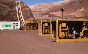 Mine high flow water pump hire