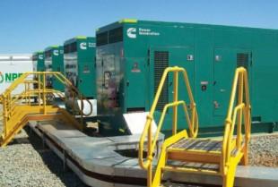 Remote power generator hire