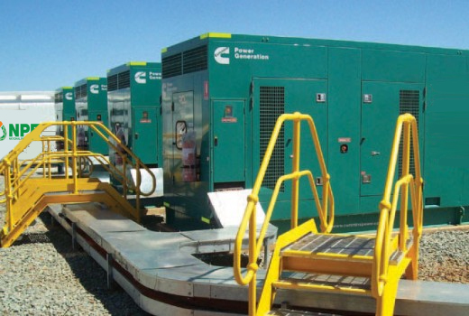 Remote power generator hire