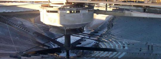 Thickener Tank Clean
