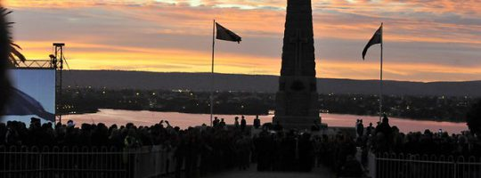ANZAC Day – Perth 2016
