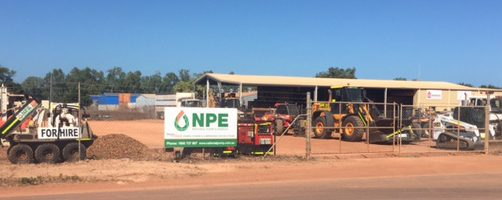 NPE Weipa hire branch opens