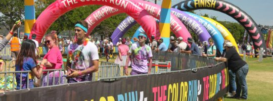 Color Run Generator Hire