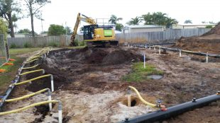 Wellpoint Dewatering at Sunshine Coast