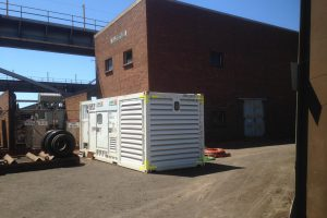 Power outage generator hire