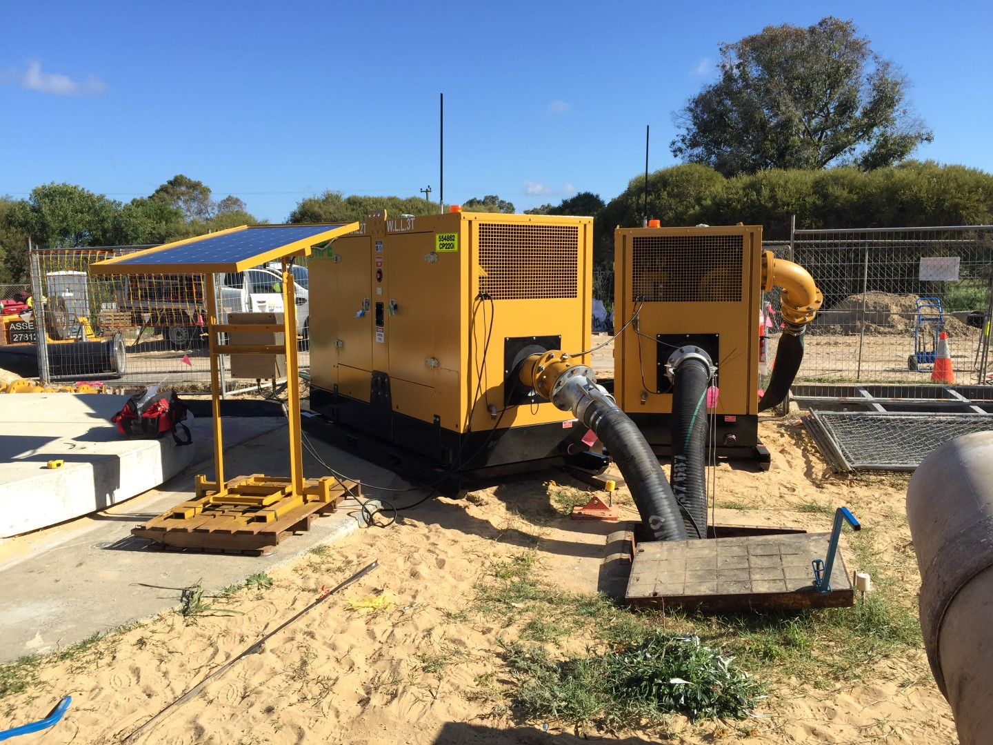 Bypass Pumping & Pump Hire - National Pump & Energy