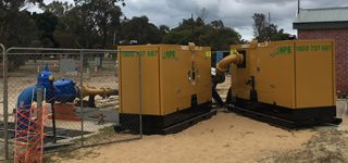 Wastewater Bypass Pump