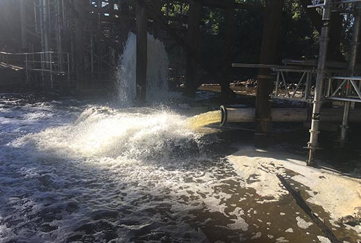 River Bypass Pumping
