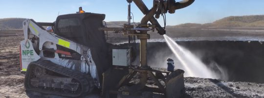 NPE helps pump new life into old mine