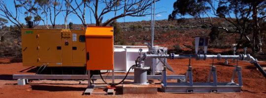Bore pump package with full telemetry