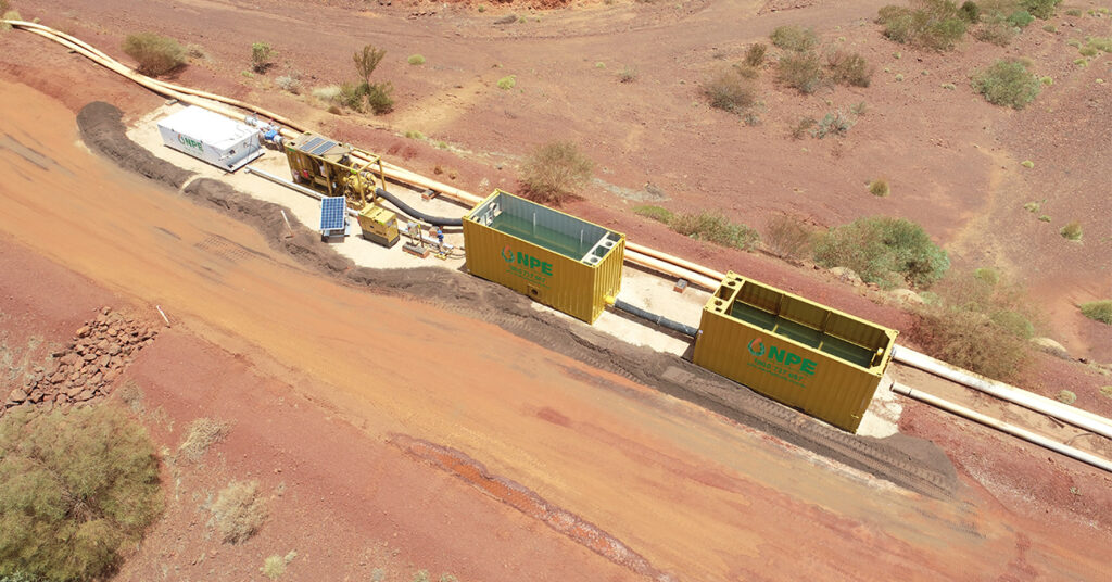 Slurry Booster for Rio Tinto