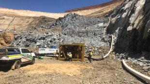 Pump install job in Mid West, Western Australia.