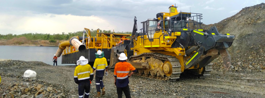 Wet season dewatering solutions at NT mine site