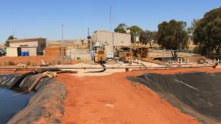 On site at pipeline maintenance project in South Australia.