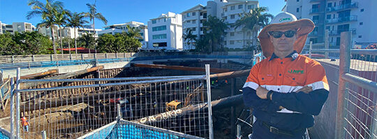 Well point and deep well dewatering in action at two Sunshine Coast construction projects.